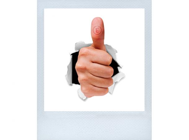 Daumen hoch: Motivation & Kundenzufriedenheit © Frank Dunker